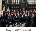 May 8, 2017 Concert
