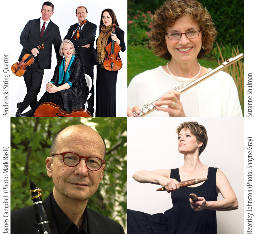 Soloists for the Sound of the Festival Concert